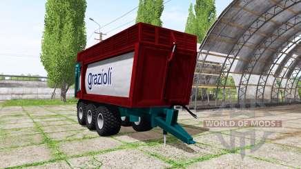 Grazioli Domex 200-6 v2.0 для Farming Simulator 2017