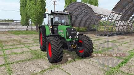 Fendt 820 Vario TMS v1.3 для Farming Simulator 2017