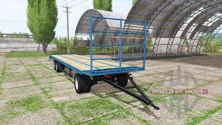 Bale trailer v1.1 для Farming Simulator 2017