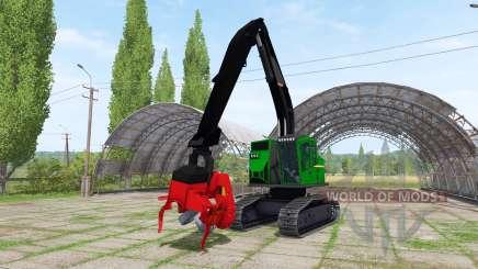 Machine Processor Dangle для Farming Simulator 2017