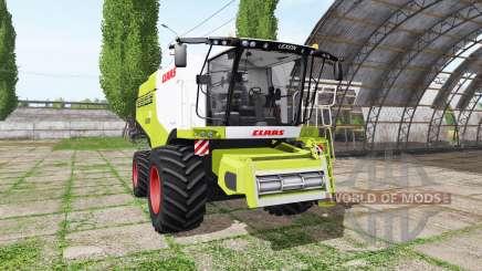 CLAAS Lexion 750 v1.01 для Farming Simulator 2017