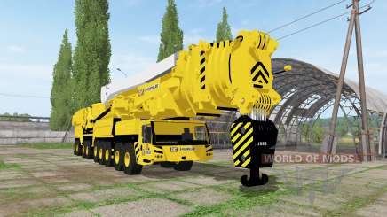 Caterpillar crane для Farming Simulator 2017