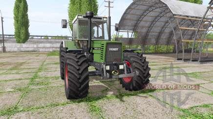 Fendt Favorit 612 LSA Turbomatik E для Farming Simulator 2017