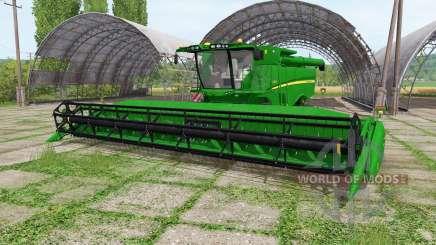 John Deere S670 RowTrac для Farming Simulator 2017