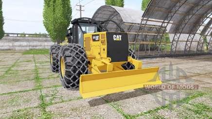 Caterpillar 555D v2.0 для Farming Simulator 2017