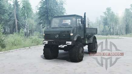 Mercedes-Benz Unimog U1650 для MudRunner