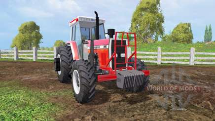 Massey Ferguson 290 front loader для Farming Simulator 2015