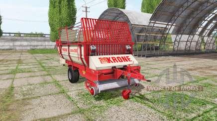 Krone Turbo 2500 v1.1 для Farming Simulator 2017