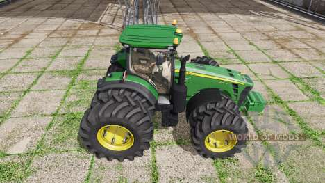 John Deere 8270R v1.1.2.5 для Farming Simulator 2017