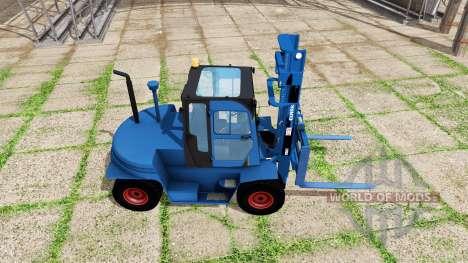Clark C80D blue для Farming Simulator 2017