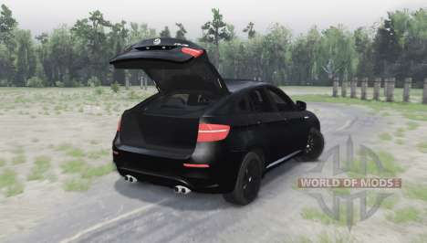 BMW X6 M для Spin Tires