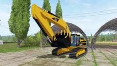 Caterpillar 345B LME v1.1 для Farming Simulator 2017