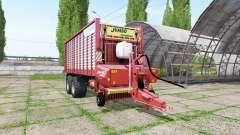 POTTINGER JUMBO 6610 combiline для Farming Simulator 2017
