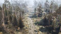 Лесная дичь 2 - Осенняя вырубка для MudRunner
