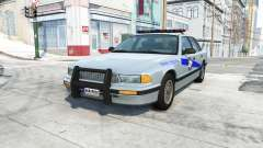 Gavril Grand Marshall kentucky state police v4.0 для BeamNG Drive