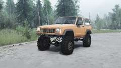 Jeep Cherokee (XJ) 1990 для MudRunner