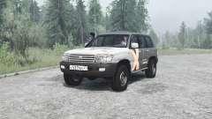 Toyota Land Cruiser 105 для MudRunner