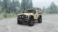 Land Rover Defender 90 off-road