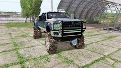Ford F-350 Super Duty Crew Cab mud truck для Farming Simulator 2017