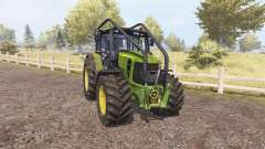 John Deere 7530 Premium forest для Farming Simulator 2013