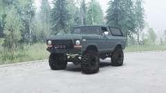 Ford Bronco Custom (U150) 1978 для MudRunner