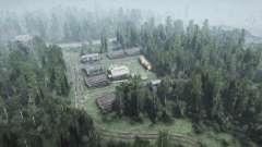 Деревня Папиково для MudRunner