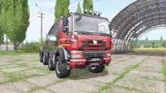 Tatra Phoenix T158 8x8-6 hooklift camo для Farming Simulator 2017