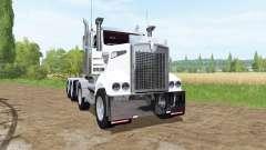Kenworth T908 8x4|4 для Farming Simulator 2017