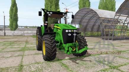 John Deere 7730 v1.4 для Farming Simulator 2017