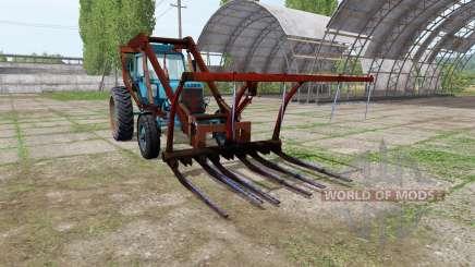 МТЗ 80 Беларус стогомёт v1.2 для Farming Simulator 2017