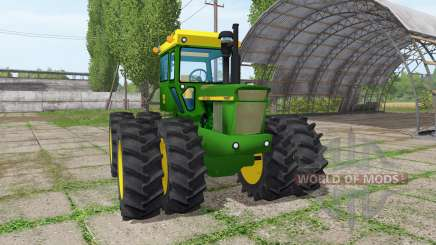John Deere 7020 для Farming Simulator 2017