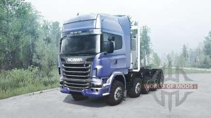 Scania R730 10x10 для MudRunner