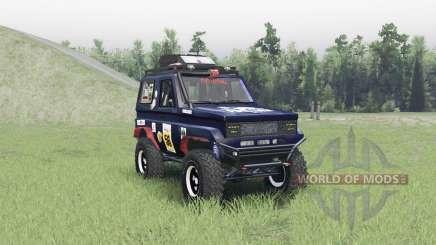 Toyota Land Cruiser 70 v1.1 для Spin Tires