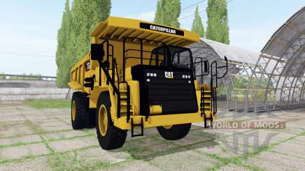 Caterpillar 773G v1.3 для Farming Simulator 2017