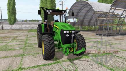 John Deere 7830 v1.5 для Farming Simulator 2017
