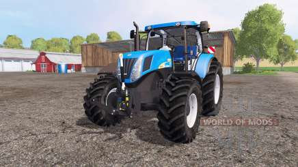 New Holland T7040 для Farming Simulator 2015