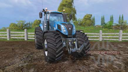 New Holland T8.320 evolution xtreme для Farming Simulator 2015