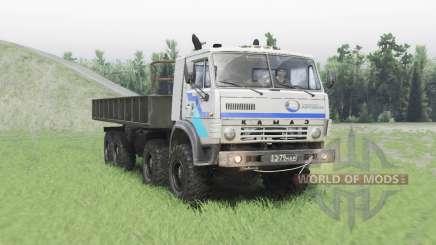 КамАЗ 63501 Мустанг v1.2 для Spin Tires