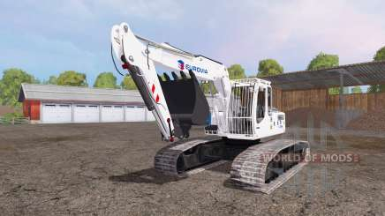 Liebherr A 900 C Litronic eurovia для Farming Simulator 2015