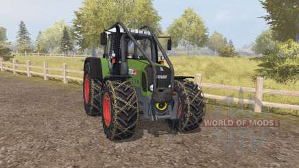 Fendt 820 Vario TMS forest для Farming Simulator 2013