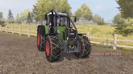 Fendt 820 Vario TMS forest для Farming Simulator 2013