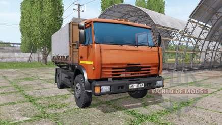 КАМАЗ 43255 v2.1 для Farming Simulator 2017