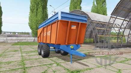 Corne trailer для Farming Simulator 2017