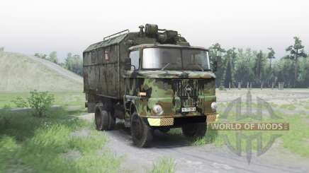IFA W50 L army для Spin Tires