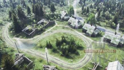Поселок Горин для Spin Tires