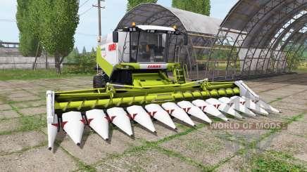 CLAAS Lexion 580 TerraTrac для Farming Simulator 2017