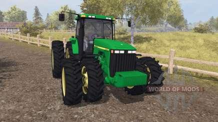 John Deere 8400 v3.0 для Farming Simulator 2013