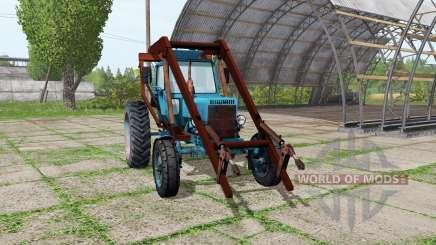 МТЗ 80 Беларус стогомёт для Farming Simulator 2017