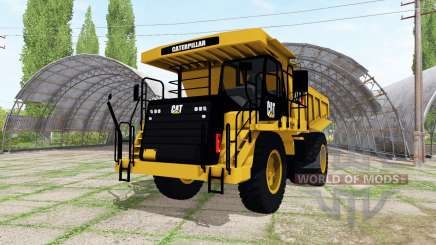 Caterpillar 773G v1.1 для Farming Simulator 2017