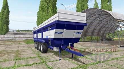 Visini Tetra XL D4-950 для Farming Simulator 2017